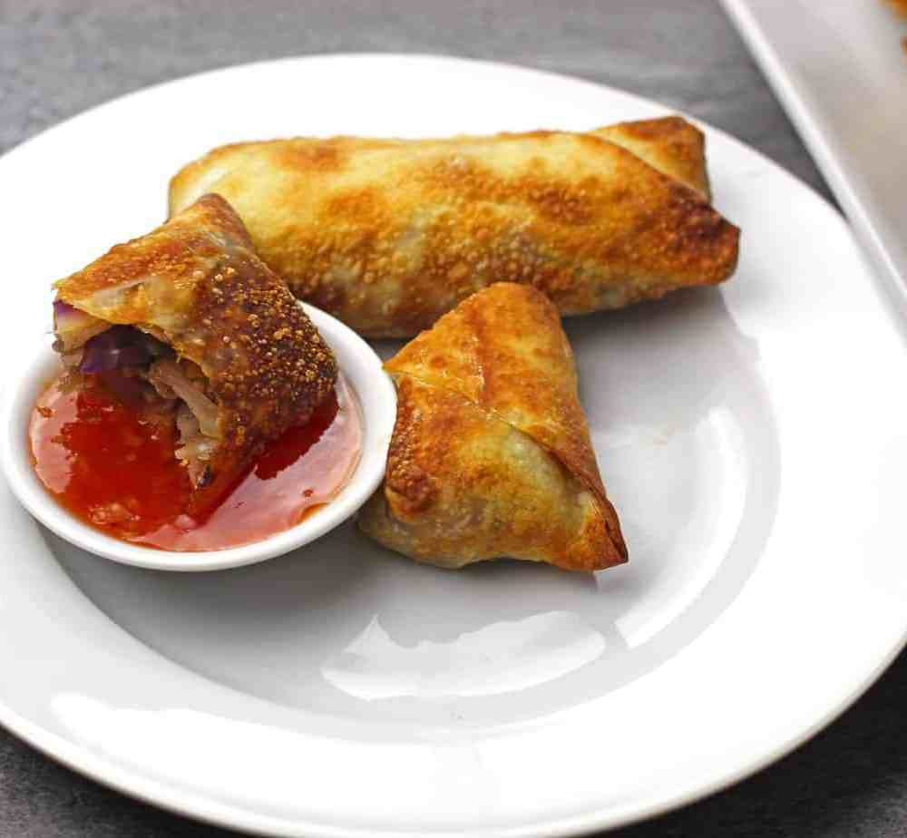 Air Fryer Egg Rolls with Chinese Five Spice
