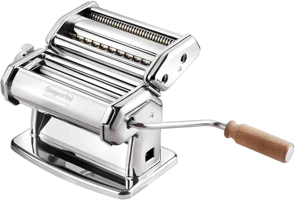 Picture of a hand crank pasta maker on prime day