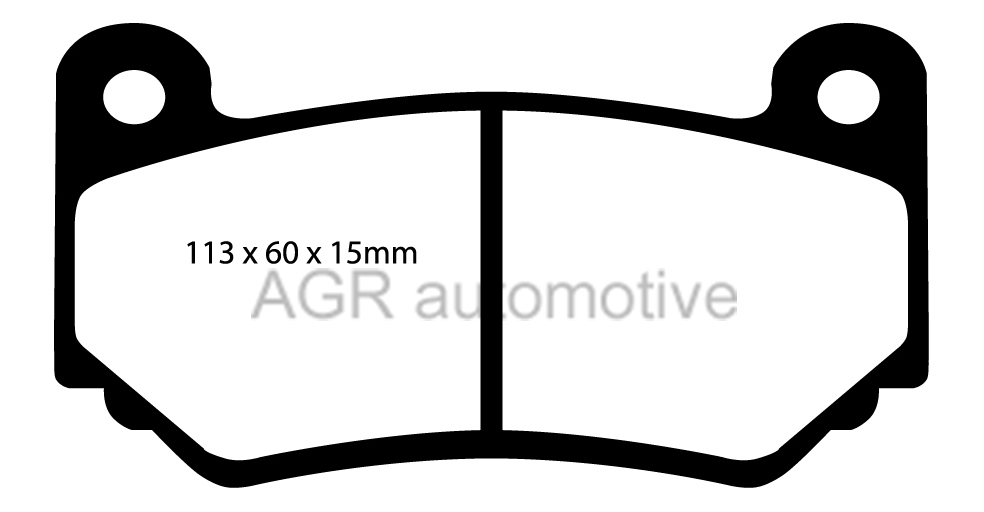 MINTEX FRONT + REAR DISCS AND PADS FOR MG TF 1.8 135 BHP
