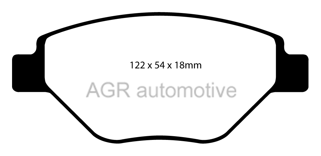MINTEX FRONT DISCS AND PADS 280mm FOR RENAULT MEGANE MK2