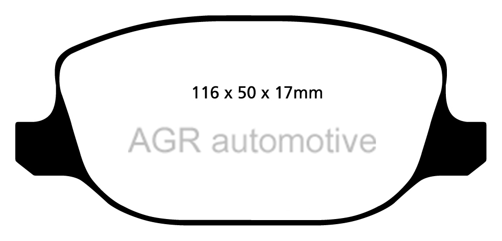 MINTEX FRONT AND REAR BRAKE PADS FOR ALFA ROMEO 159 1.75