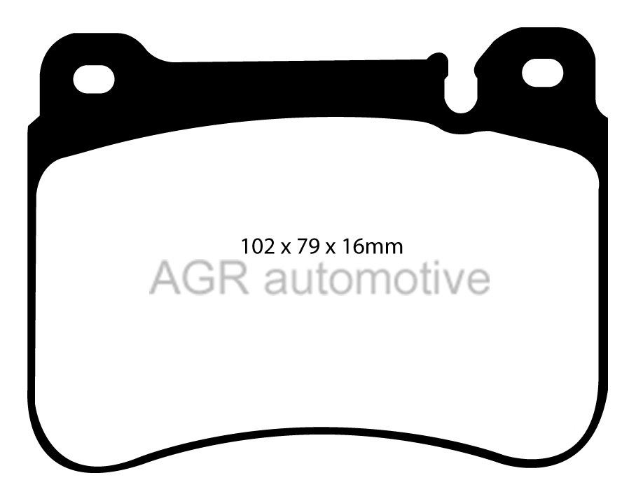 MINTEX FRONT AND REAR BRAKE PADS FOR MERCEDES-BENZ C-CLASS