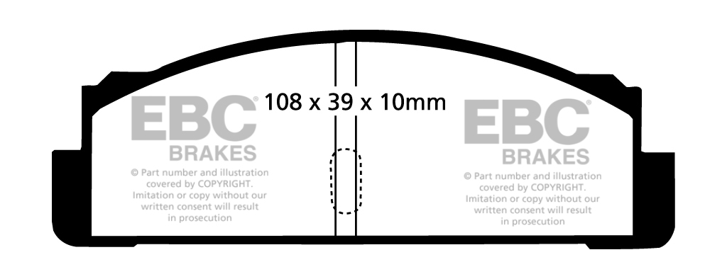 EBC FRONT + REAR DISCS AND PADS FOR FIAT 124 SPIDER 1.4