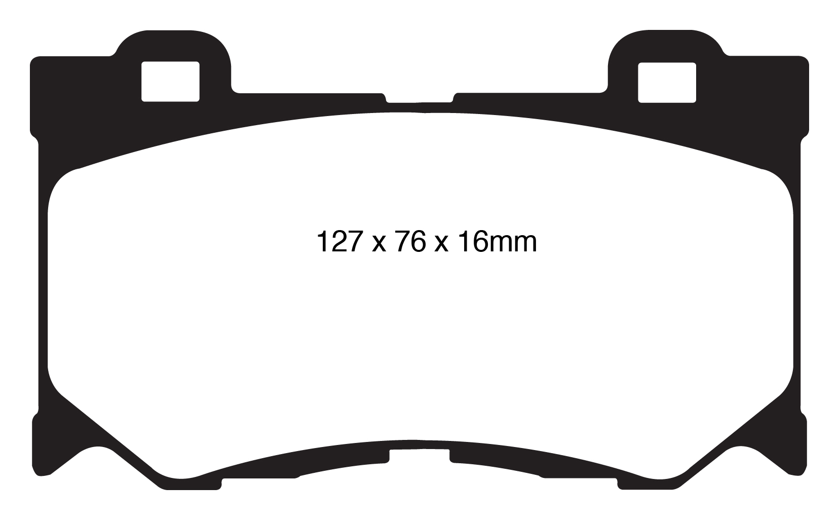 Ebc Yellowstuff Front Rear Pads Kit For Infiniti Fx30d 3