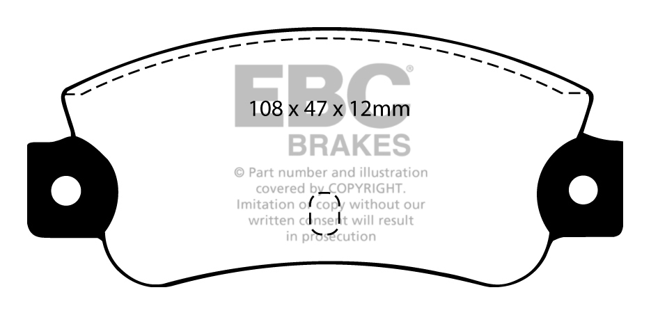 EBC FRONT + REAR DISCS AND PADS FOR LANCIA THEMA 2.5 TD