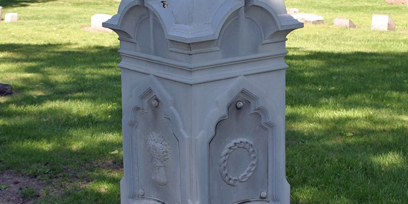 Horsman Monument, Forest Home Cemetery, Chicago, Illinois