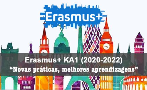 Lista  de docentes no projeto Erasmus+ KA1