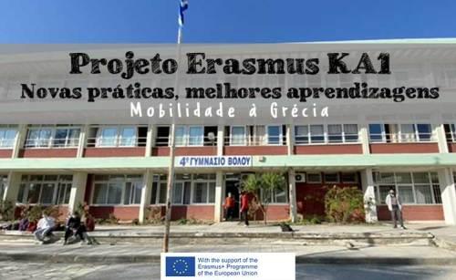 """Projeto KA1 -  """"Novas práticas, melhores aprendizagens"""""""