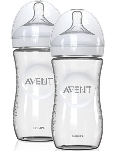 7. Philips AVENT Natural Glass Bottles