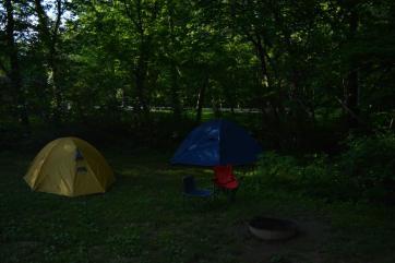Camp at General Butler