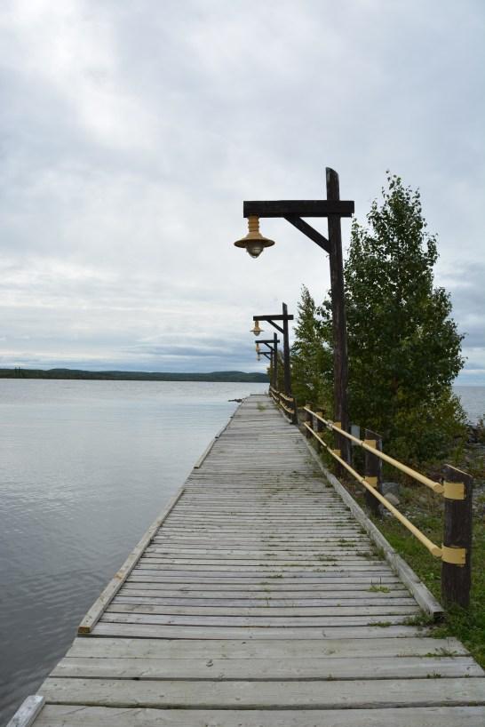 The shores of Lake Nipigon
