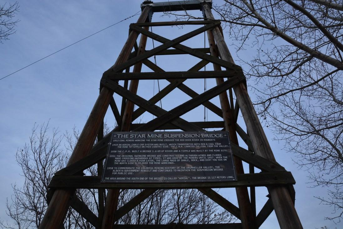 Star Mine Suspension Bridge
