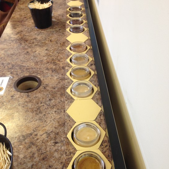Planet Bee Honey Samples