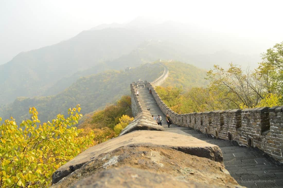 Walking The Great Wall Of China AGreekAdventure World