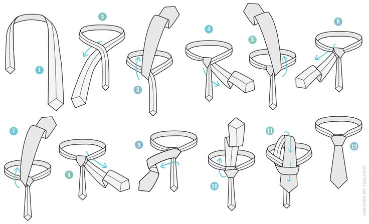 how to tie a double windsor knot diagram pictures 4