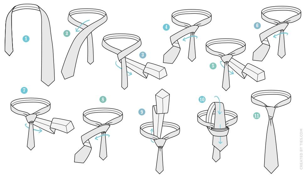 knot tying diagram