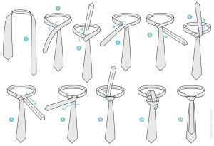 How to Tie a Murrell Necktie Knot | AGREEorDIE