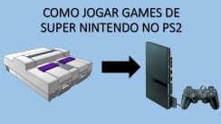 Como jogar games de super nintendo no play station 2