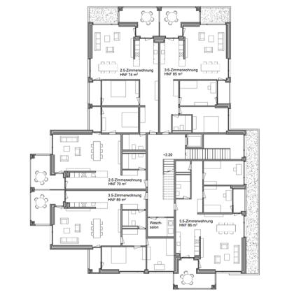 Ideenstudie Wohnhaus, Neuhausen