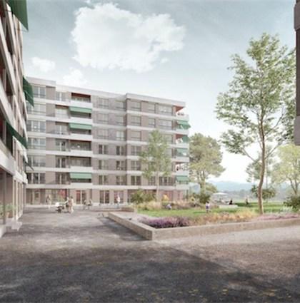 Wohnüberbauung Reichenbach, Bern
