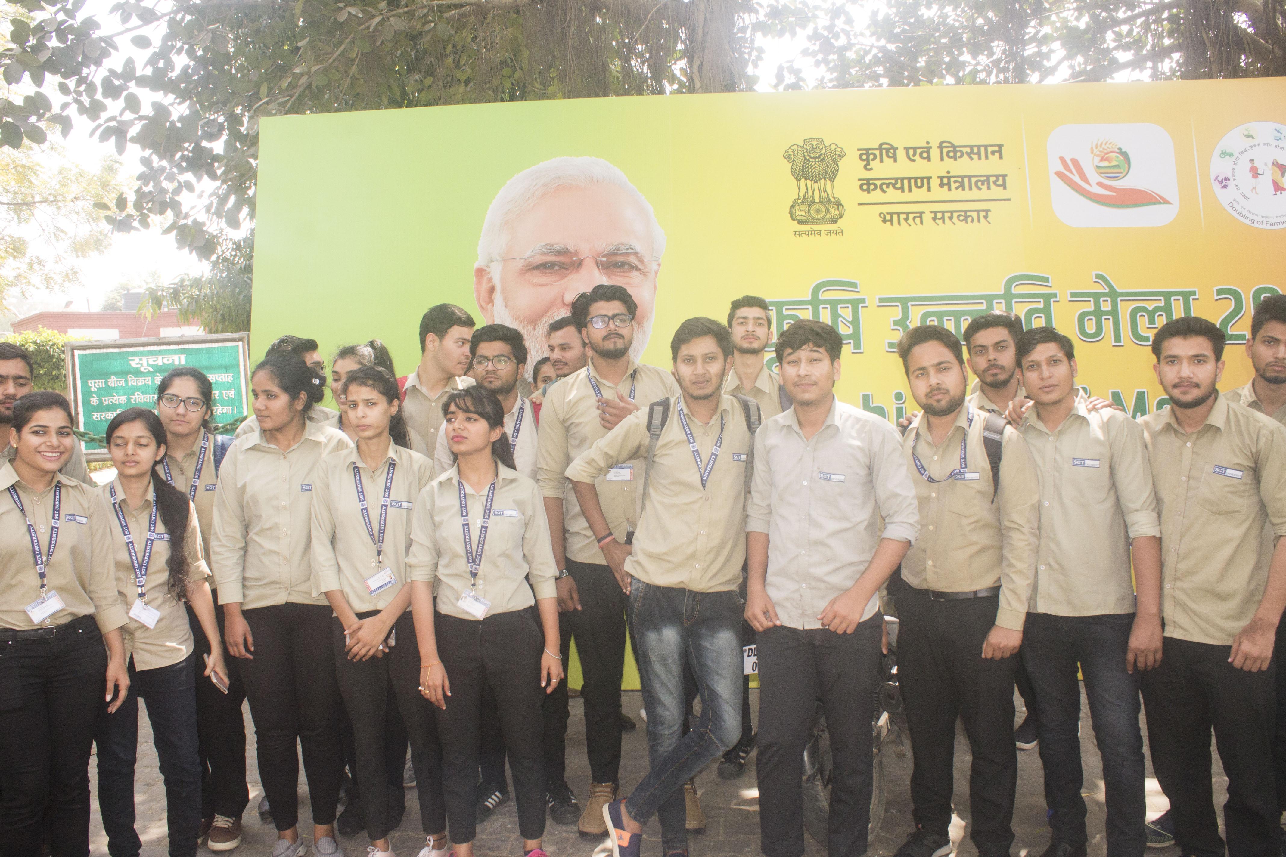 Kisan Mela Visit at ICAR-IARI Pusa Campus, New Delhi