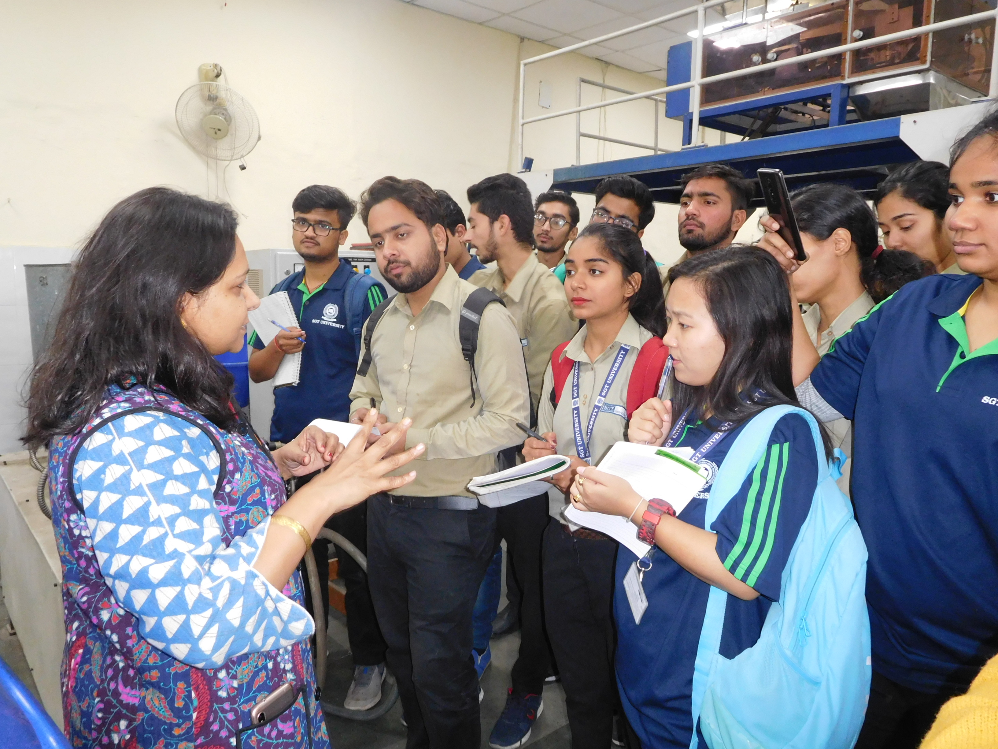 Visit to Post Harvest Technology and Processing Unit IARI, New Delhi