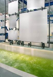 احواض ترسيب شوائب حامض الفوسفوريك