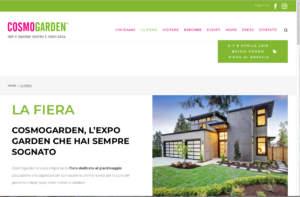 Cosmogarden la nuova fiera del verde a Brescia  Agricommercio