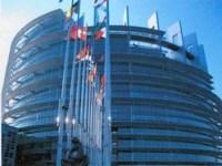 Exterior del Parlamento europeo