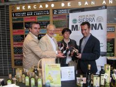 Responsables de Sierra Mágina con aceite en Madrid