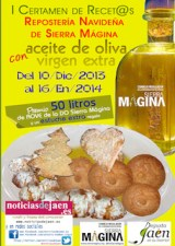 certamen reposteria con aceite de oliva virgen