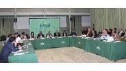 Mesa de reunión sobre las ayudas agroambientales