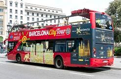 Aceite de oliva en Bus Barcelona