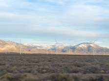 Wind turbines in Nevada