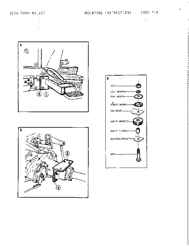 New Holland Retro NH 2120 Mount Instructions