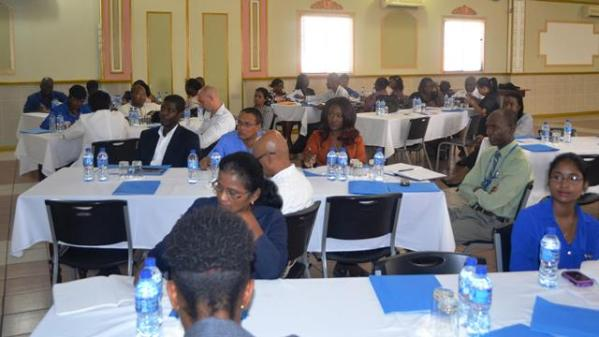 A section of the persons in attendance at the FAO Country Programming Framework Consultation Brief