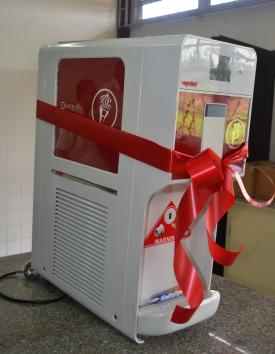 The ice cream maker which was donated