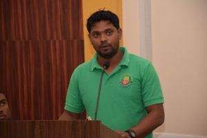 Dashrat Narine- GRDB Representative