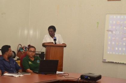 CEO, NDIA, Mr. Fredrick Flatts addressing the Workshop