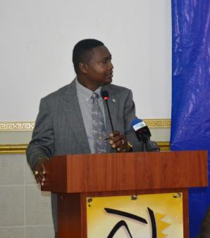Permanent Secretary, Department of Public Service, Ministry of the Presidency, Mr. Reginald Brotherson