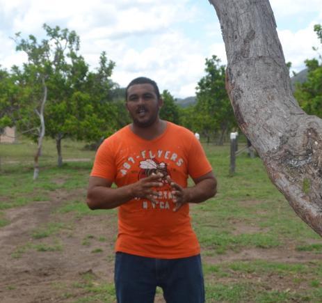 Annai Village Chairman, Adon Jacovis