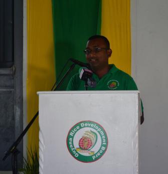 GRDB Chief Scientist, Dr. Mahendra Persaud