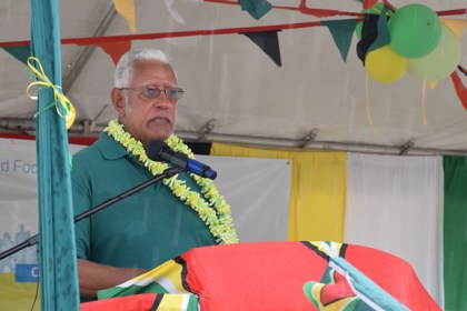 Minister Holder addresses World Food Day participants