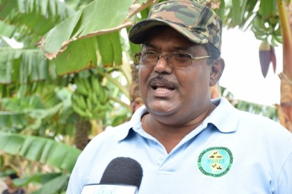 Narinedat Harridat District Crop Extension Officer.