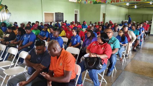 Fishermen and Women at the Fisherfolk Day 2019 Conference
