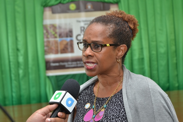 Country Representative for the Food and Agriculture Organization (FAO) to Guyana, Dr. Gillian Smith