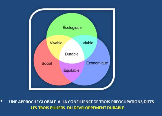 CONCEPT DE DEVELOPPEMENT DURABLE