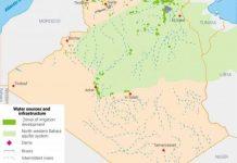 الضغط على المياه الجوفية يزداد في الحوض المائي الجزائري