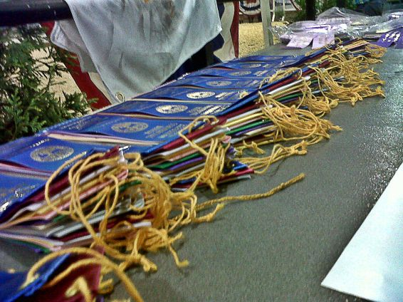 Ribbons everywhere