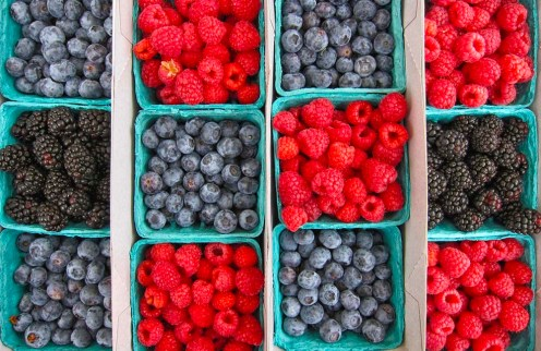 Varieties of berries